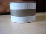 両面テープを貼ります