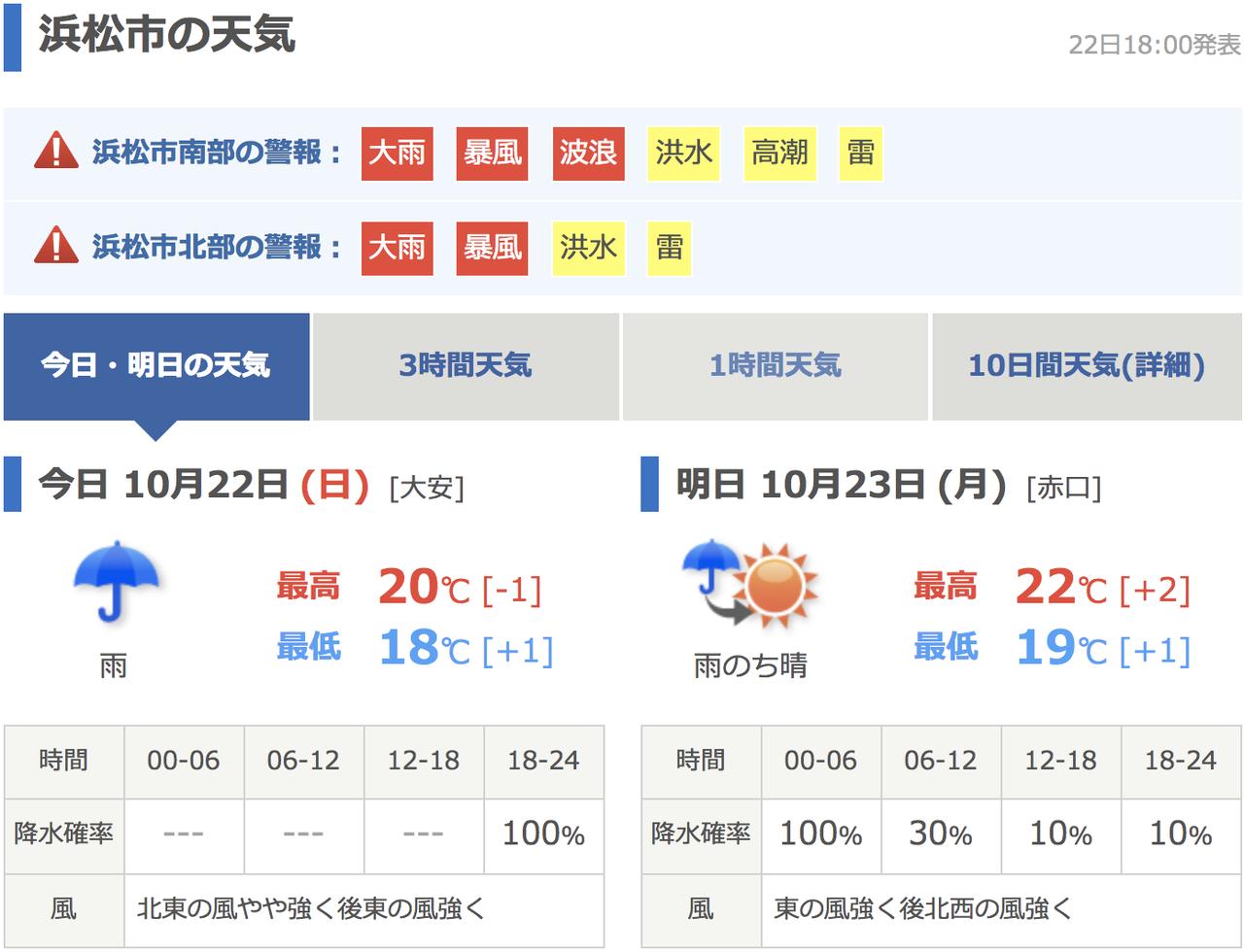 明日 天気 日本