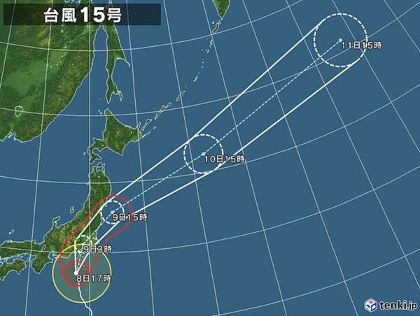 2019年台風15号