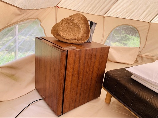 テントの中冷蔵庫