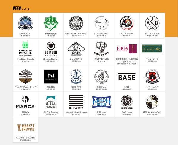 浜松クラフトビールフェス2019全国から25店舗が大集結!