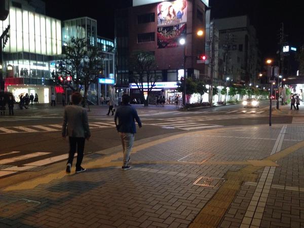 新浜松駅スクランブル交差点