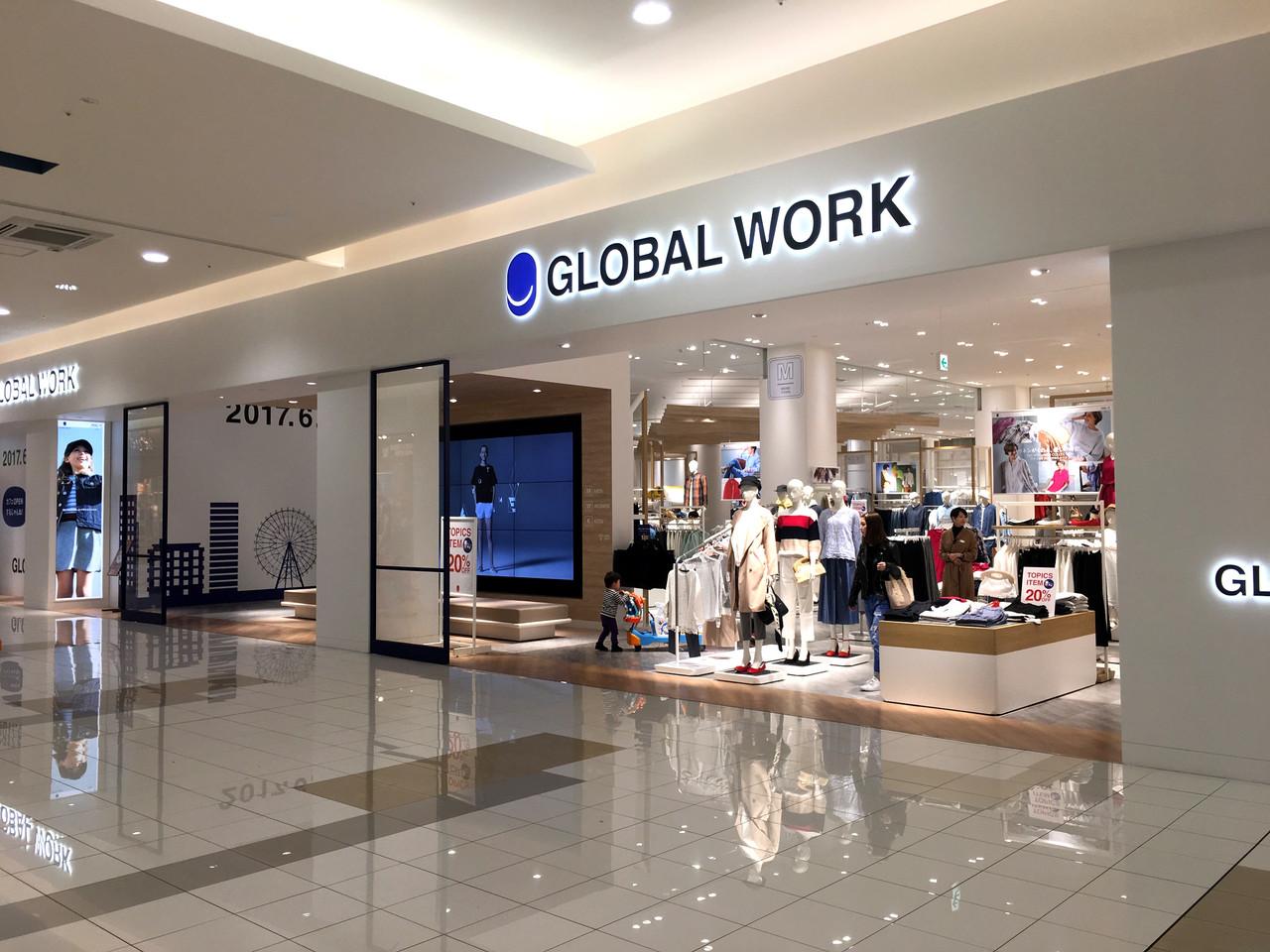 GLOBAL WORK(グローバルワーク)イオンモール市野