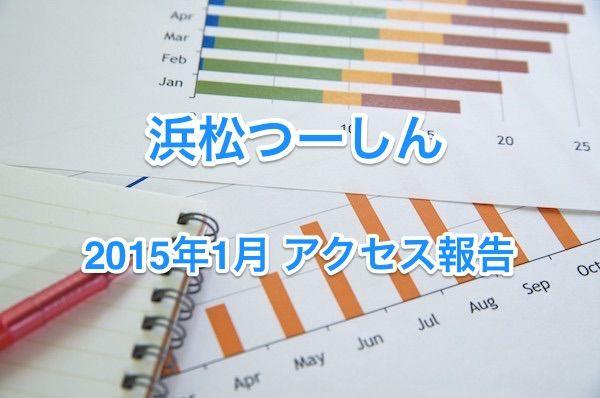 浜松つーしん2015年1月アクセス報告