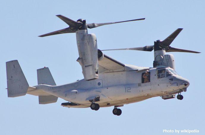 陸上自衛隊に導入予定の輸送機オスプレイ、木更津駐屯地に来年3月にも暫定配備へ…地元自治体「何も連絡きていない」!