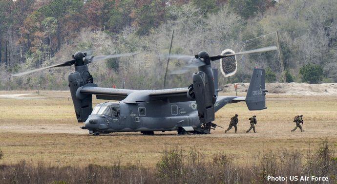 政府が空軍型オスプレイ「CV-22」を導入する方針…尖閣諸島など離島奪還や海外の邦人救出を想定!