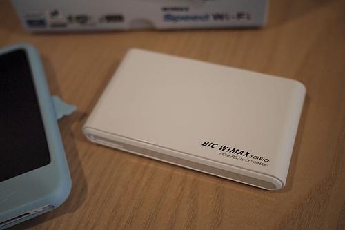 WiMAX URoad-7000買った
