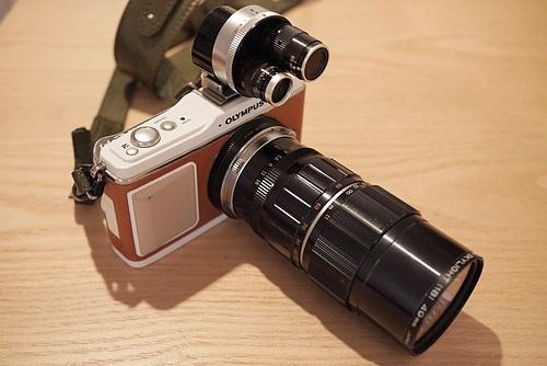 E-P1にZuiko Auto zoom 50-90mm F3.5