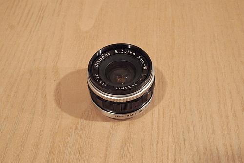 E ZUIKO Auto-W 25mm f4