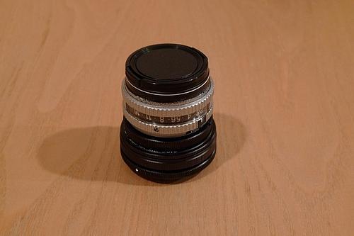 EBCフジノン EX 50mm 1:2.8