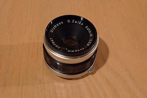 38mm f2.8 DズイコーAUTO S