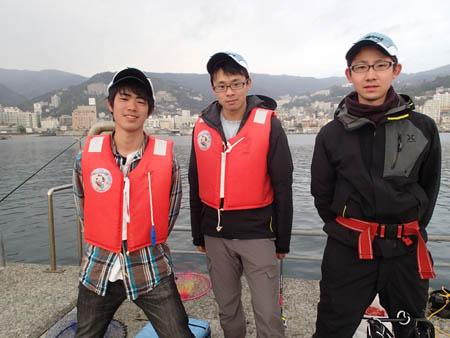 2−4.アキ・ヤマ・タケの大学生トリオ