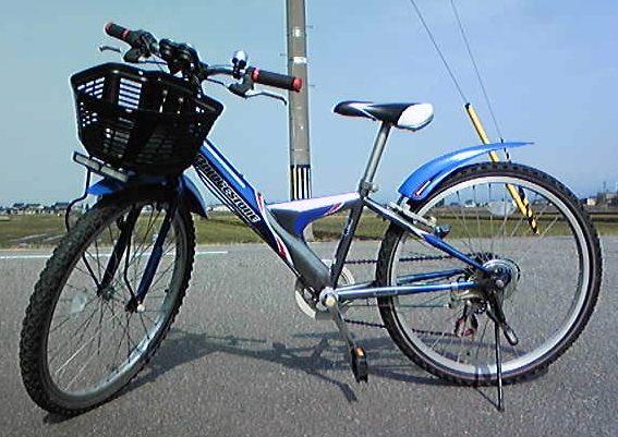 ... の男の子用自転車を拾ってきた