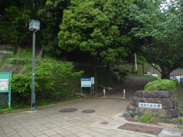清水ヶ丘公園の様子