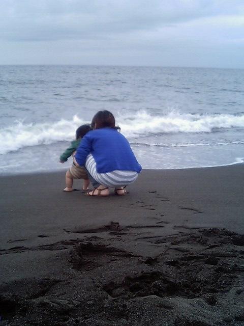 初めての海