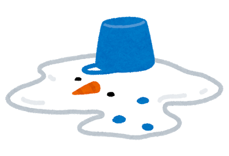 snowman_yukidaruma_toketa