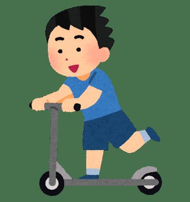 9才男児意識不明…交差点でワゴン車とキックスケーターが衝突