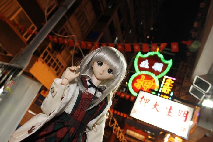 娘(人形)と香港の街を観光してきたで!