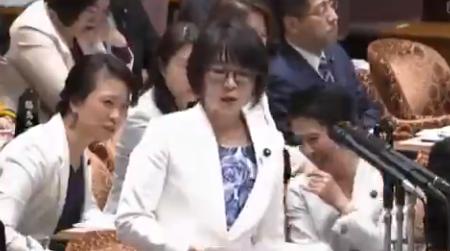 【年収2000万円】立憲民主党・蓮舫と国民民主党のおばさん議員達、国会を喫茶店かなにかだと勘違いしてしまう
