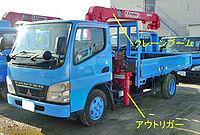 200px-Mitsubishi_Fuso_Canter_Truck_crane_003