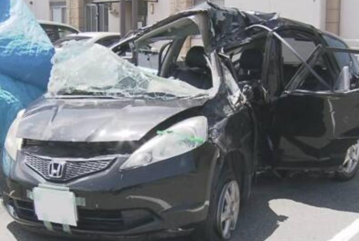 【中2】13才が車運転し事故…男女5人のうち1人死亡、4人大ケガ