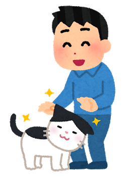 pet_natsukareru_cat_man