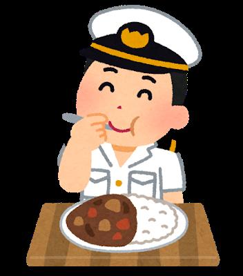 syokuji_curry_kaigun