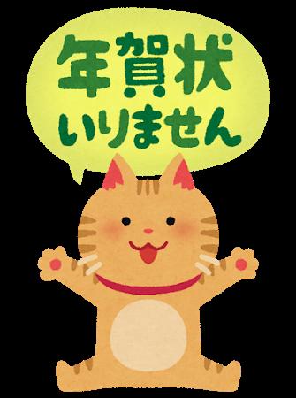 nengajou_irimasen