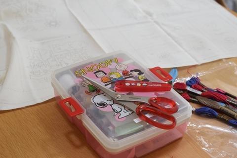 娘の裁縫セット