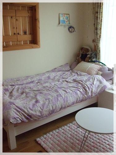 娘のベッド2