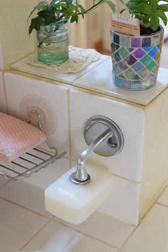 キッチン石鹸おき