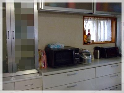 キッチン背面掃除後