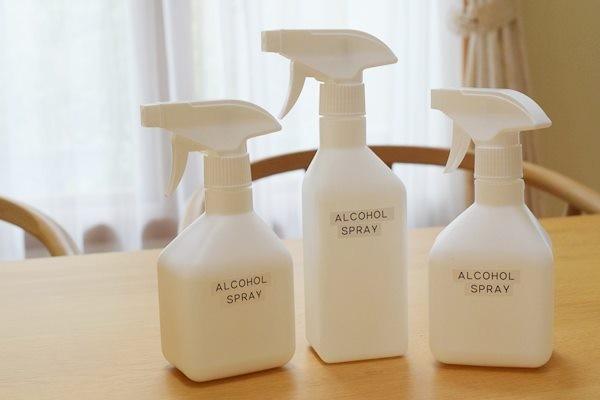 スプレー ボトル 対応 無印 アルコール