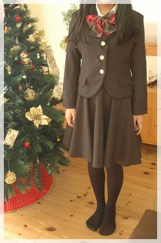 娘の卒業式スーツ