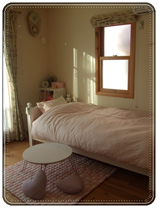 今日の娘の部屋
