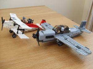 レゴ インディジョーンズの飛行機