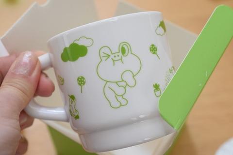 以前貰ったカップ
