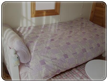 ベッドカバー4