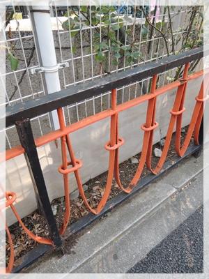 東京タワーの柵