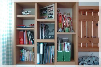 息子の本棚