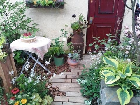 素敵な庭 (2)
