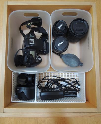 カメラ収納