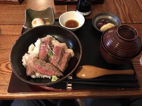 ステーキ丼 (3)