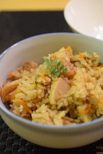 筍ご飯 (2)