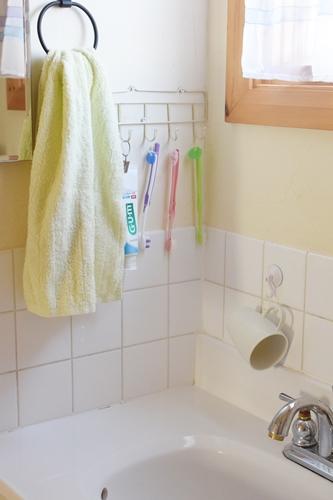 掃除しやすい洗面台