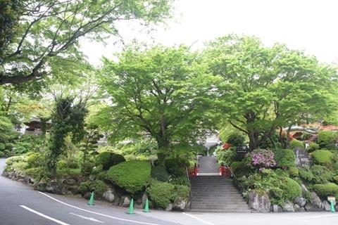富士屋ホテル入り口
