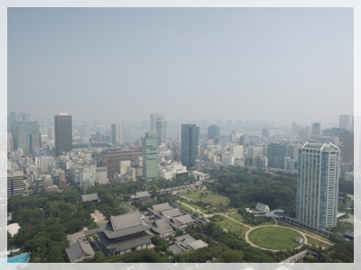 東京タワーの展望台
