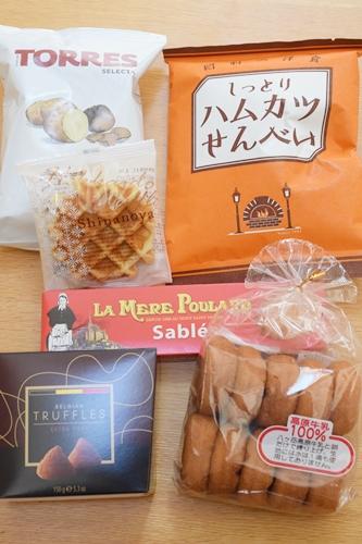 1000円お菓子福袋