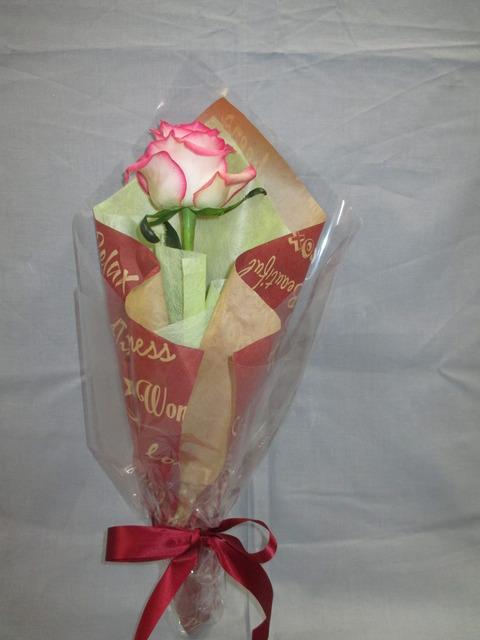 1本のバラのプレゼント