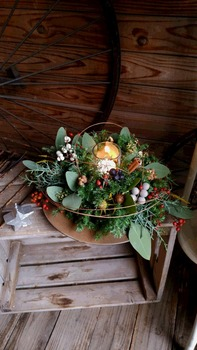 クリスマスws アレンジ